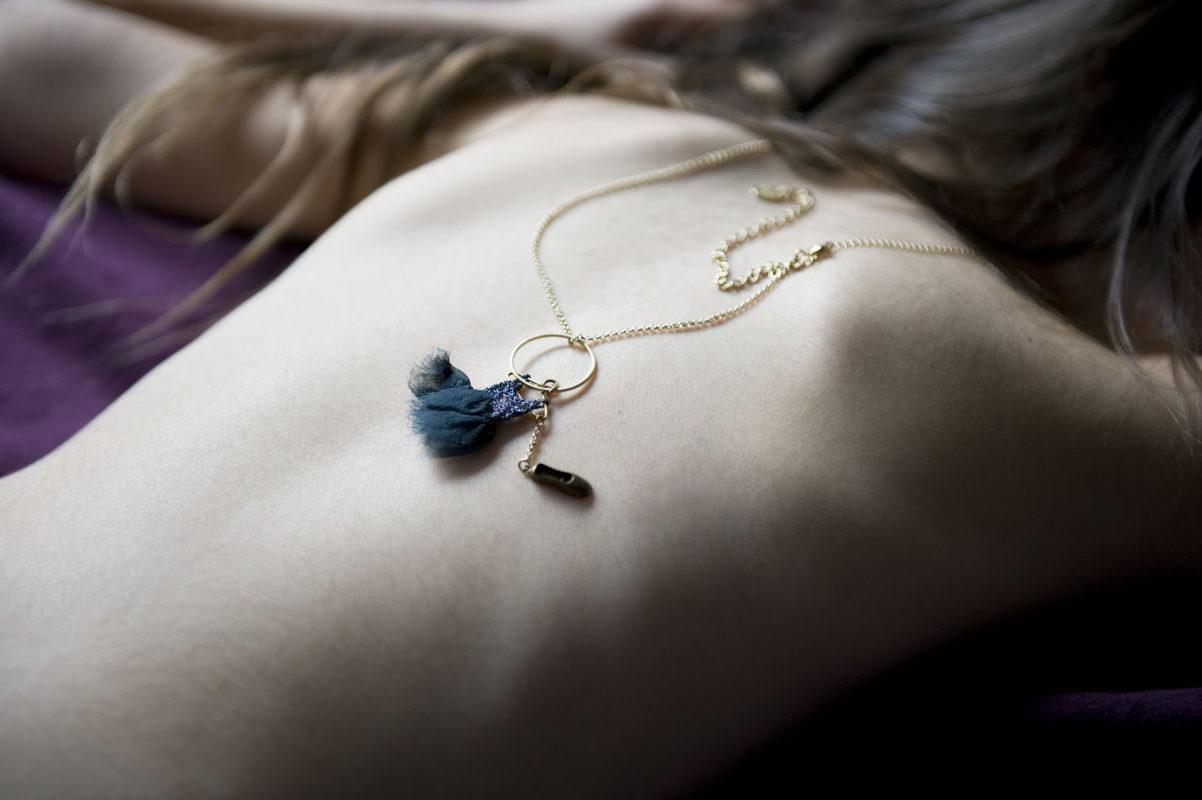 Exposition Douce brume - campagne pour la marque de bijoux Medecine Douce