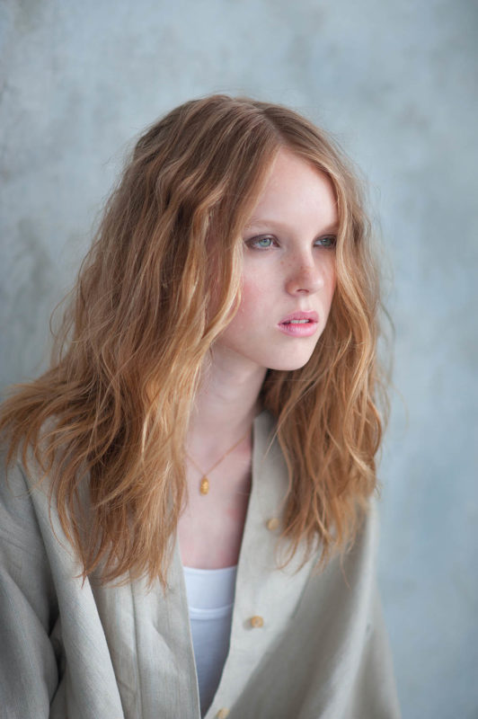 Elle Praha - editorial beauté cheveux