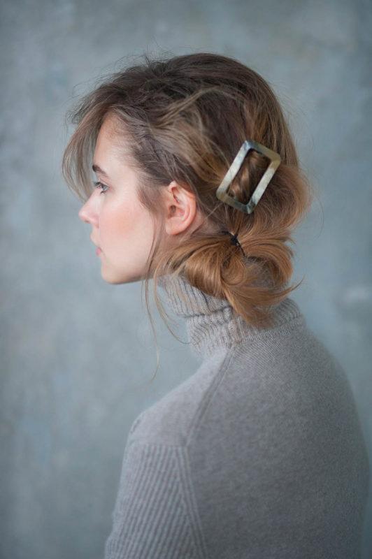 Elle Prague- editorial beauté coiffure