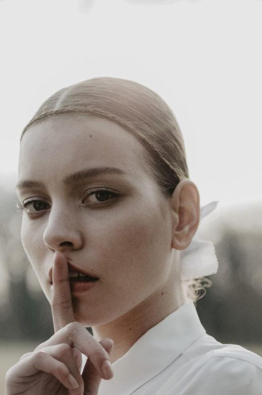 editorial mode Elle tchèque Prague avec Sabina Smutna, portrait