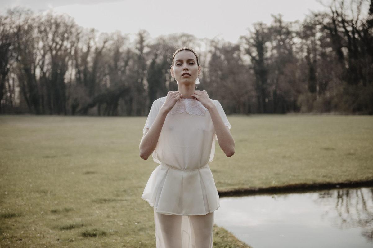 editorial mode Elle tchèque Prague avec Sabina Smutna, inspiration mariage vintage
