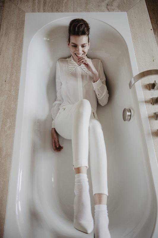 editorial mode Elle tchèque Prague avec Sabina Smutna