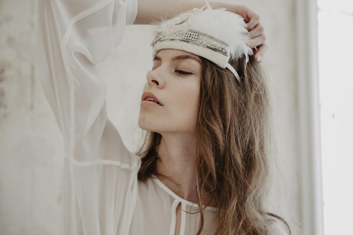 editorial mode Elle tchèque Prague avec Sabina Smutna, inspiration mariage boho