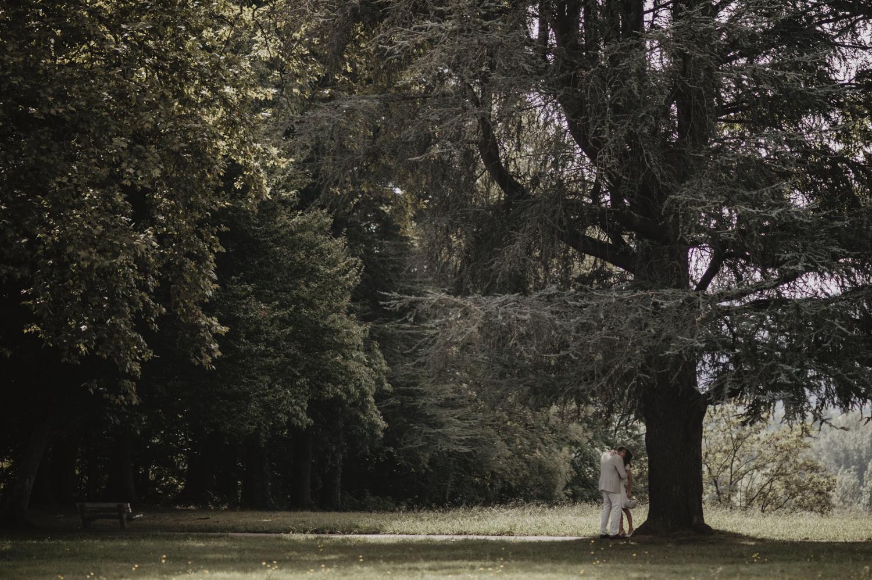 Mariage simple, séance photo dans la nature.