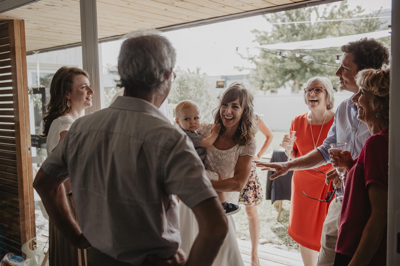 Cocktail de mariage.
