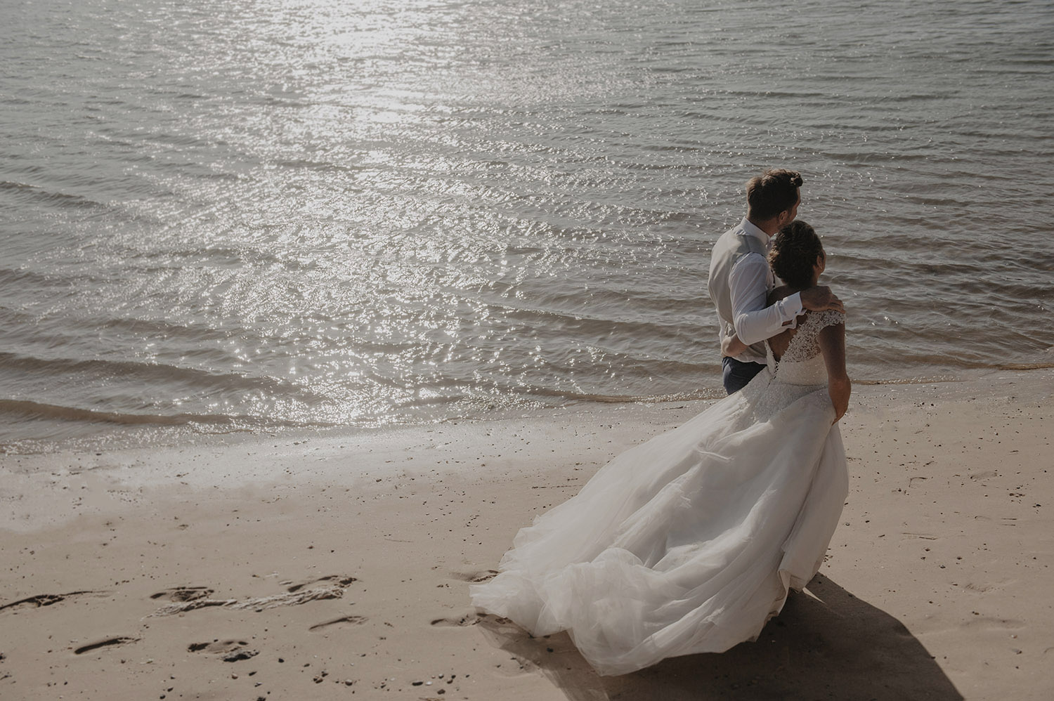 mariage lac d'hossegor