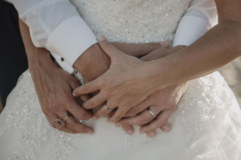 détail de sains des mariés