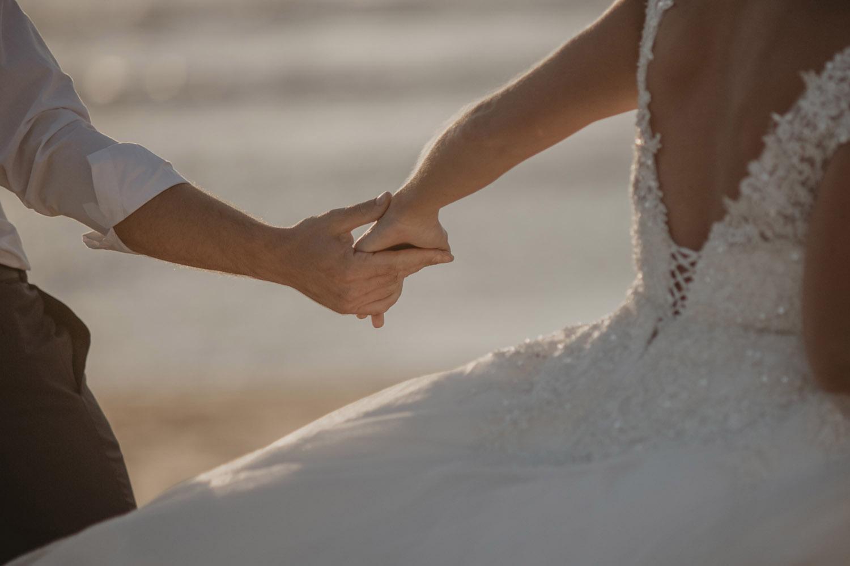 mariage intimiste dans les Landes