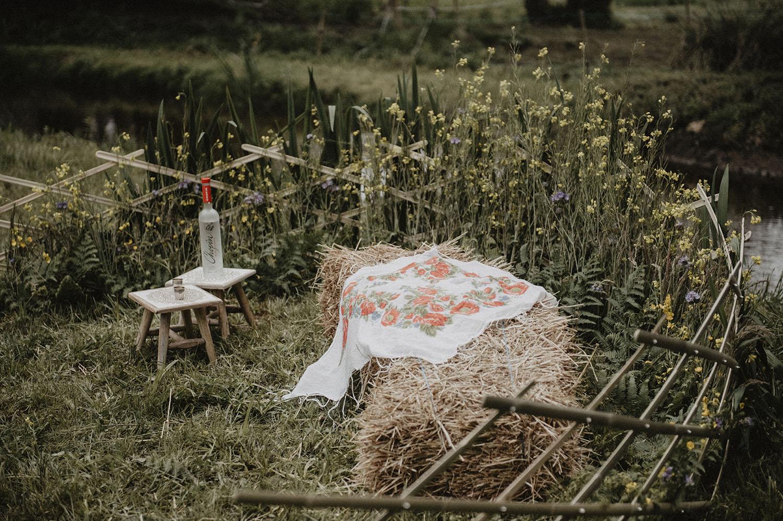 Inspiration mariage slave et rustique au coco barn wood lodge à angresse.