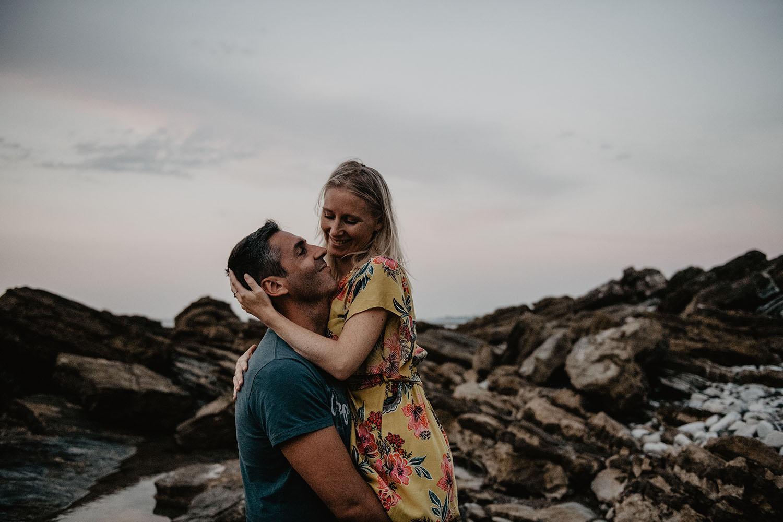 Photographe à Pau, séance couple avant le mariage