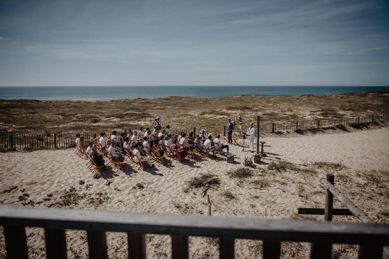Cérémonie laïque les pieds dans le sable , Hossegor, Seignosse, Landes, photographe professionnel Pau