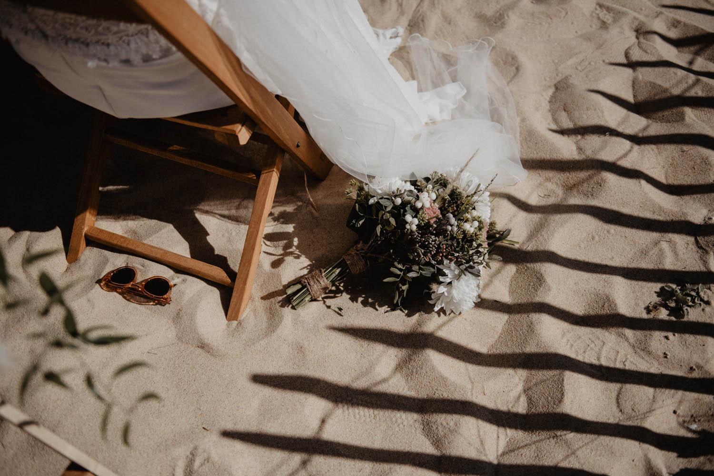 Bouquet de la mariée, fleurs sauvage, eucalyptus, mariage folk et naturel. Photographe Pau