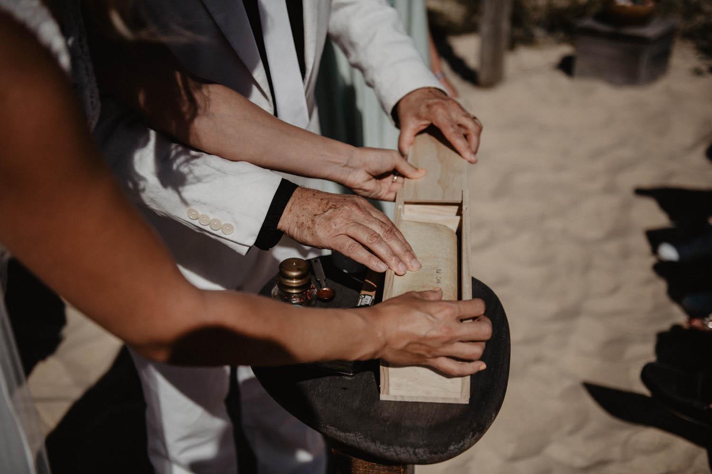 Photographe mariage Pau, Hossegor, Biarritz. Rituel mariage folk et bohème.