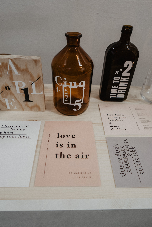 Love etc: Inspiration déco et papeterie, signalétique mariage moderne et minimaliste. Photographe mariage 64.