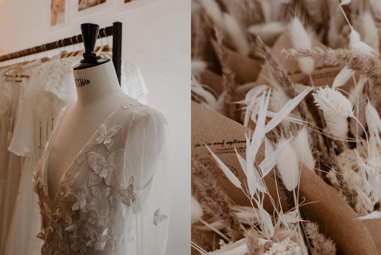 Robe de mariée 2019 2020. Photo du festival Love à Paris organisé par La mariée aux pieds nus. Photographe professionnel de mariage Pau en Aquitaine 64 Pyrénées Atlantiques.