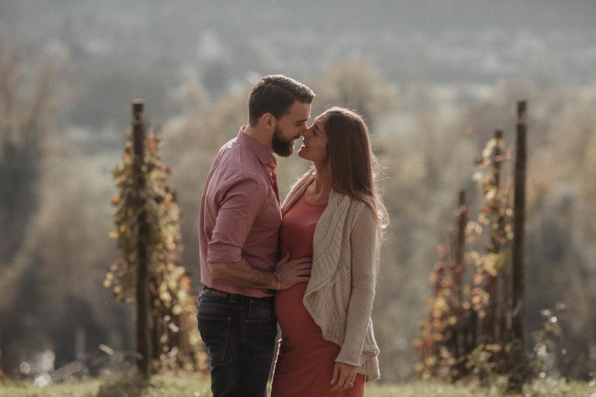 photo inspiration photographe mariage pau pays basque landes seance grossesse maternité couple lifestyle en automne