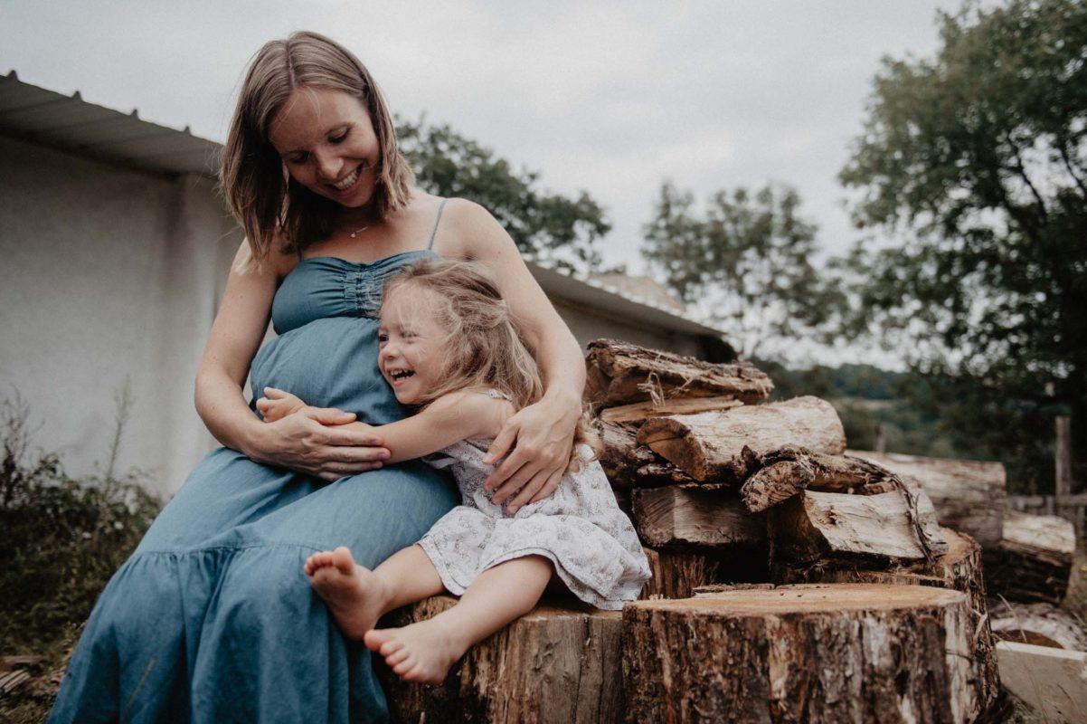 photographe mariage pau pays basque landes seance grossesse maternité lifestyle avec enfant