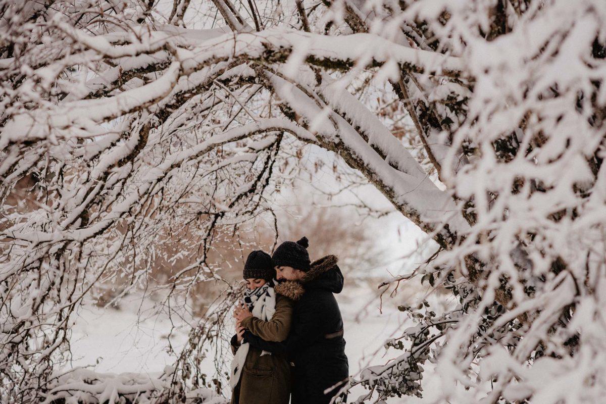 photographe mariage pays basque landes pau biarritz seance photo hivernale dans les pyrenees