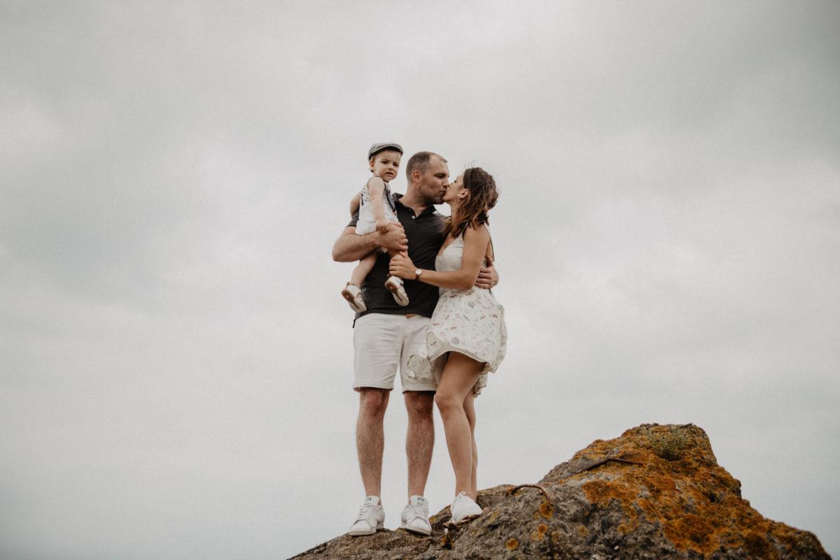 photographe pau famille seance lifestyle pays basque landes maternité
