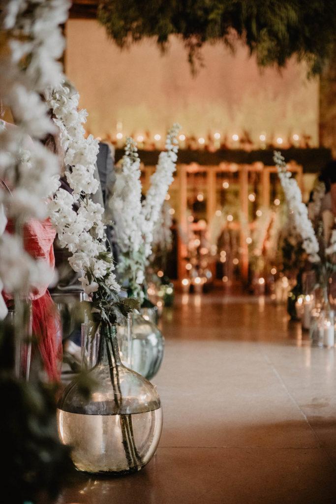 Décoration fleurie de la cérémonie l'engagement laïque de mariage, Pau, 64