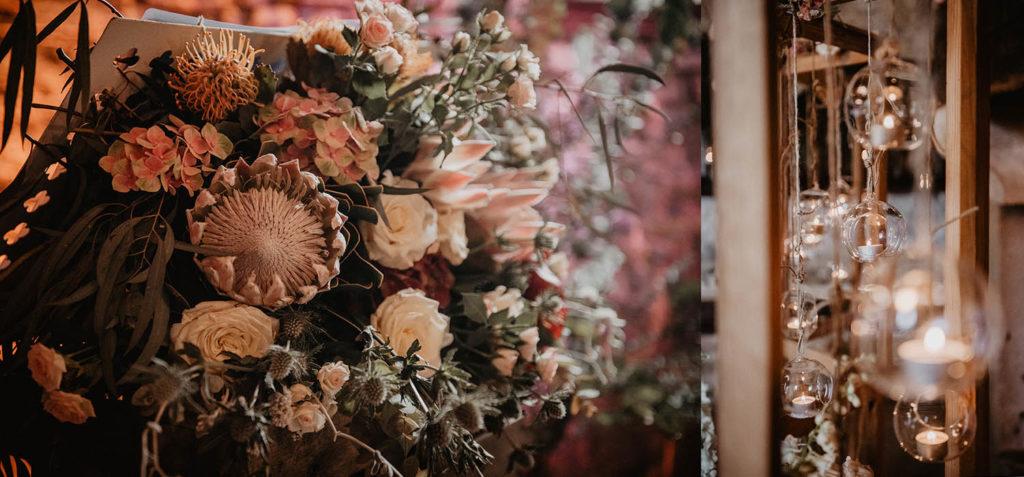 Décoration romantique de mariage, Pau