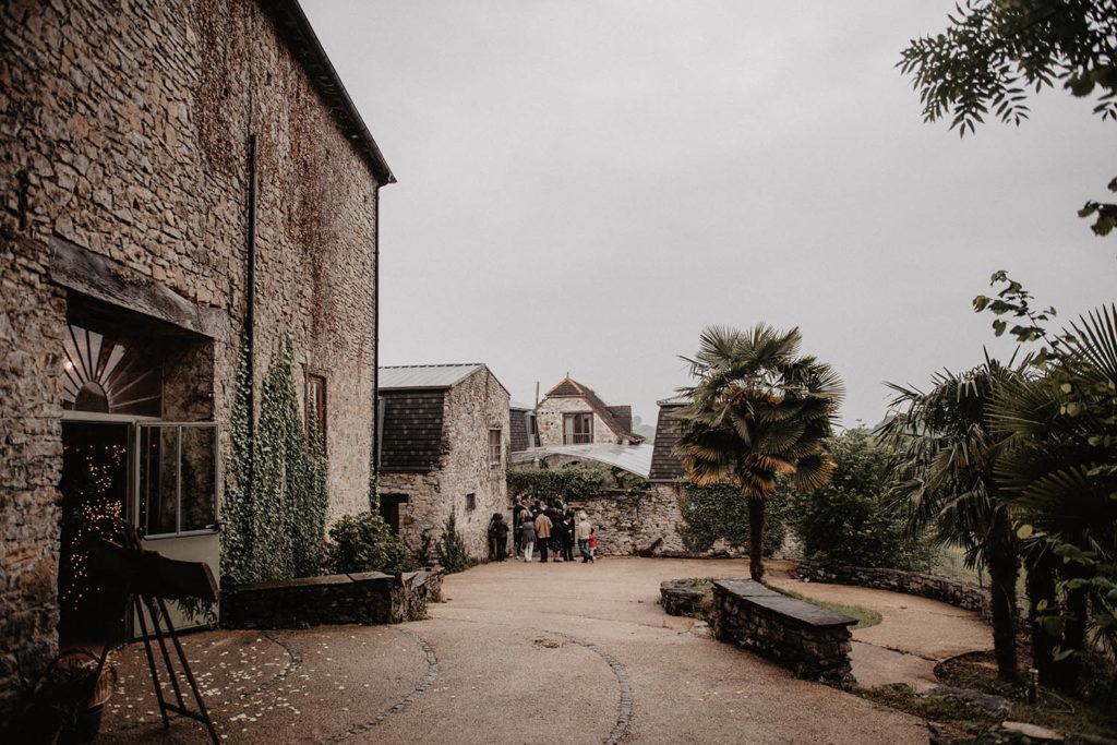 Salle de réception atypique, verrière ancienne, mariage sous la pluie, Domaine de Lucain, 64, Pau, Gan, Aquitaine