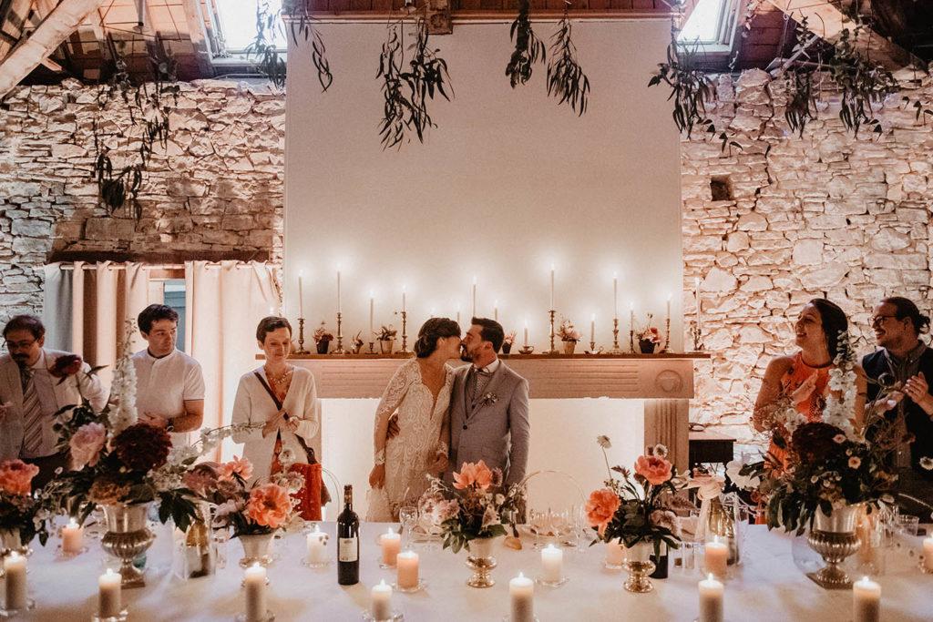 L'entrée des mariés au Domaine de Lucain