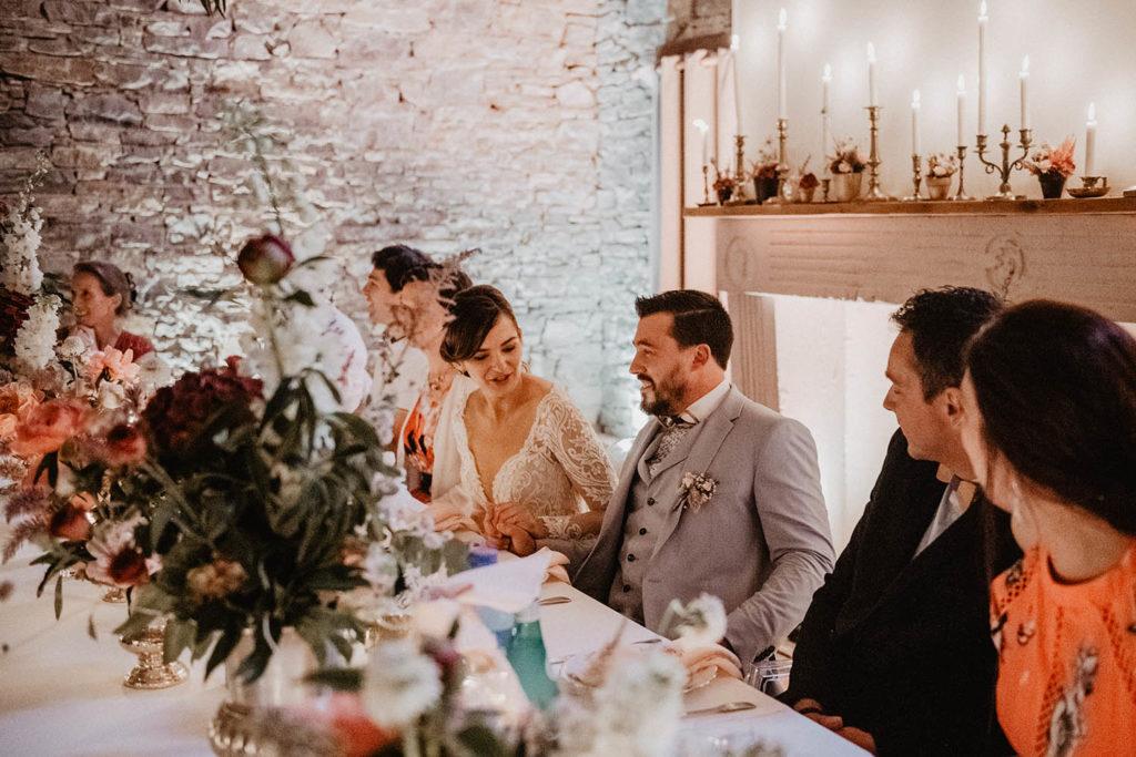 Repas de mariage au Domaine de Lucain à Gan dans les Pyrénées