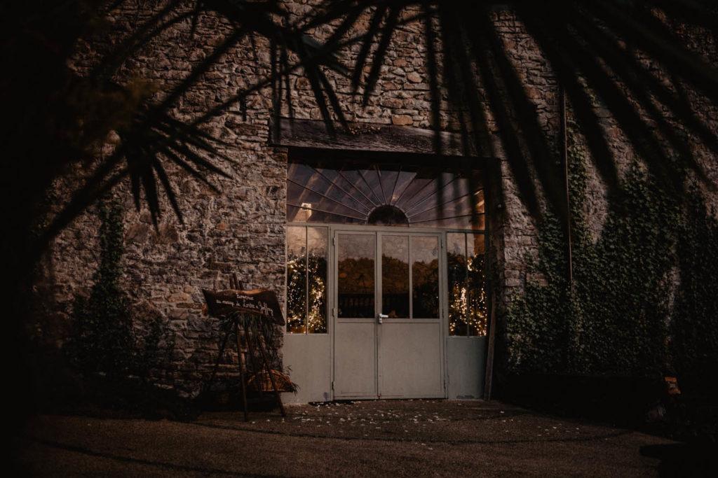 Mariage au Domaine de Lucain, ancienne baisse près de Pau