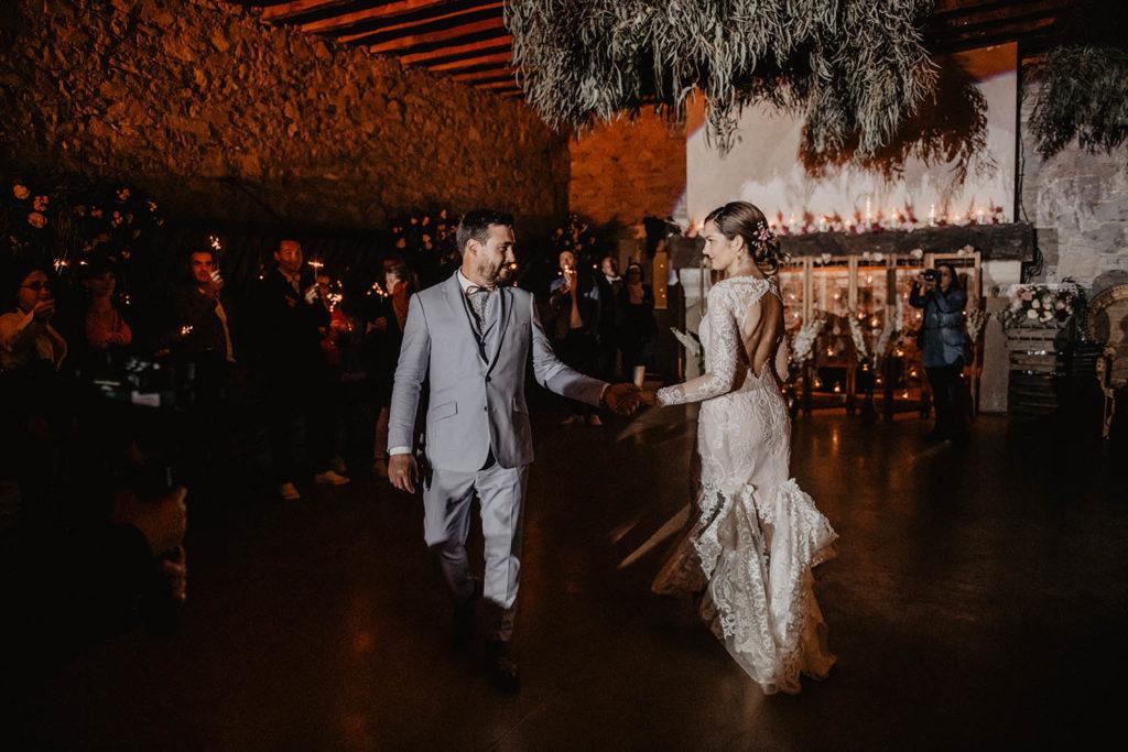Chorégraphie pour l'ouverture du bal par les mariés