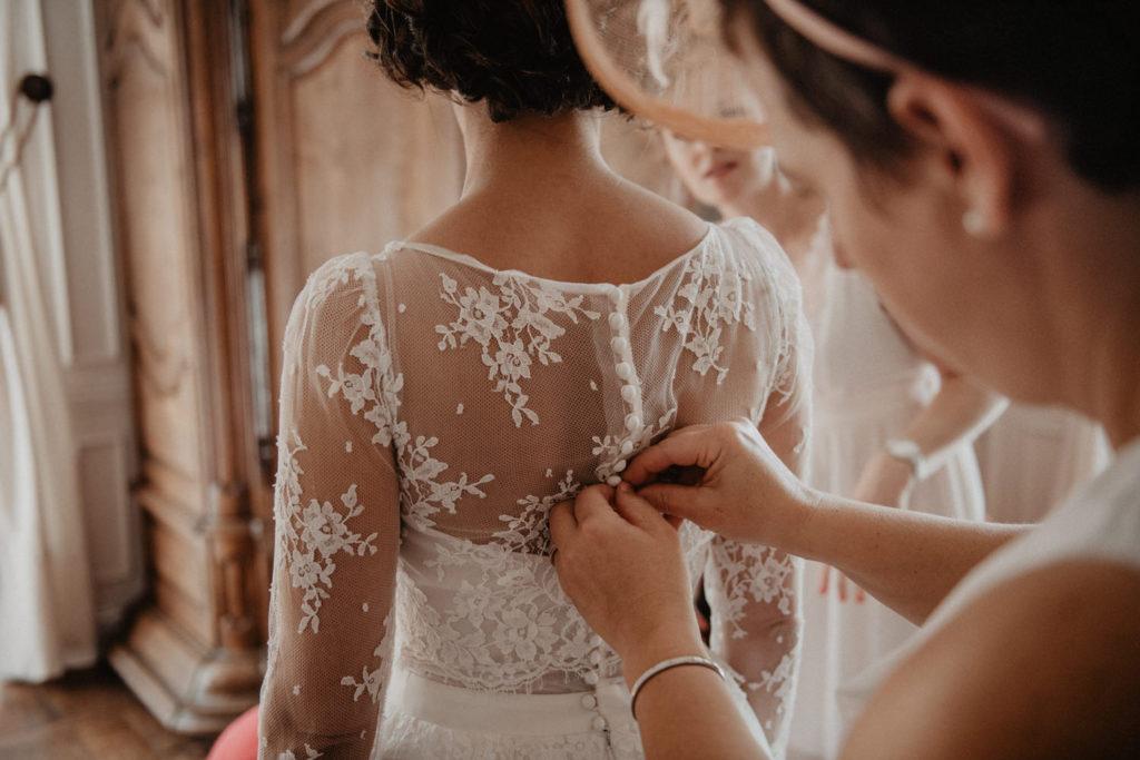mariage élégant chateau monbet
