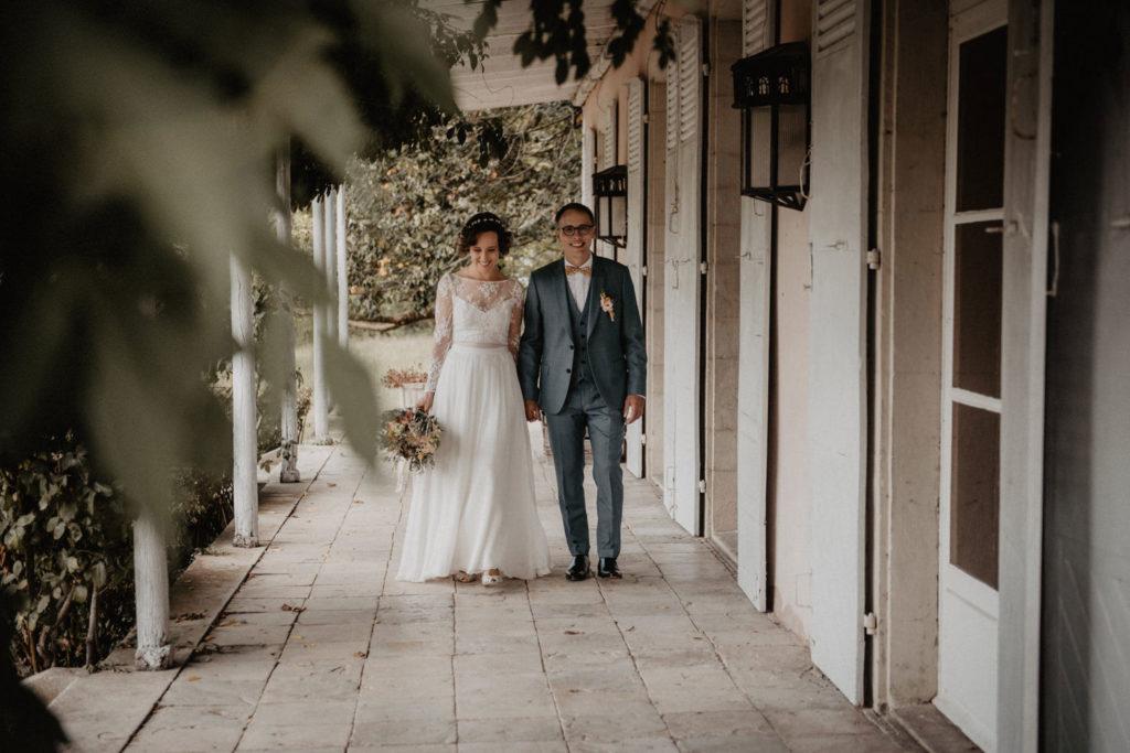 mariés chateau Monbet saint Lon les Mines