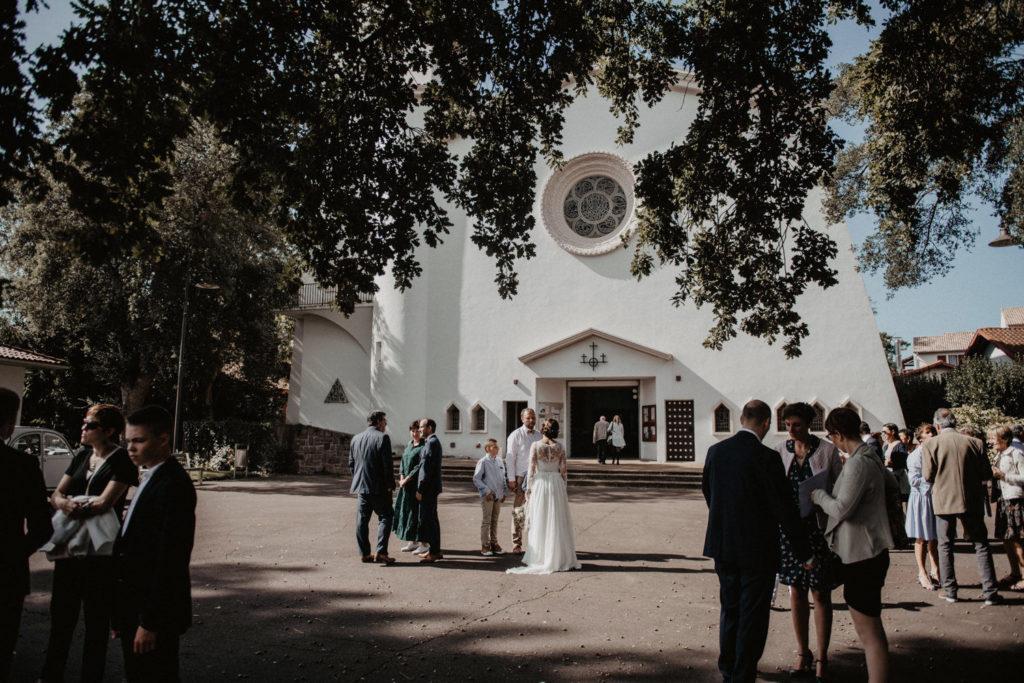 Hossegor mariage église