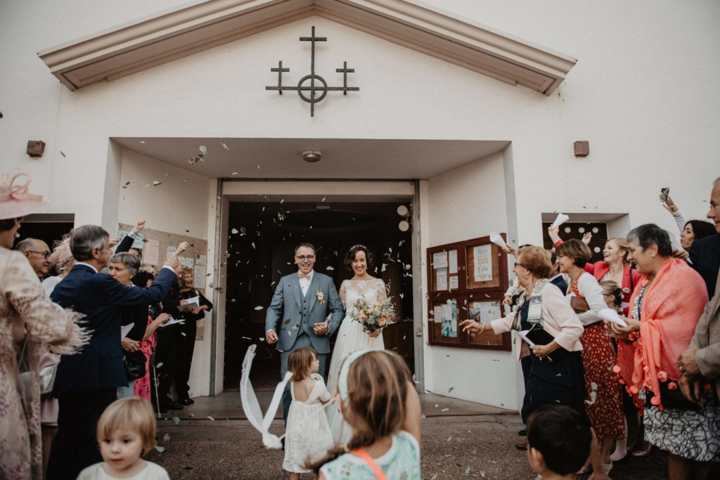 cérémonie Hossegor mariage Landes boho
