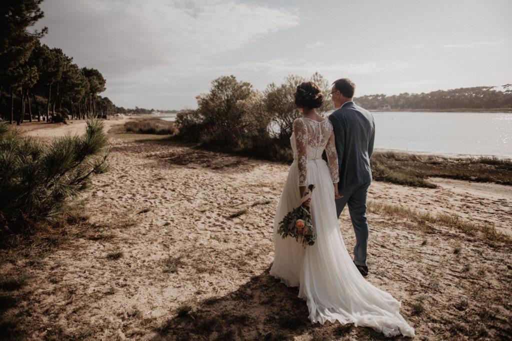 mariage lac Hossegor domaine Landes