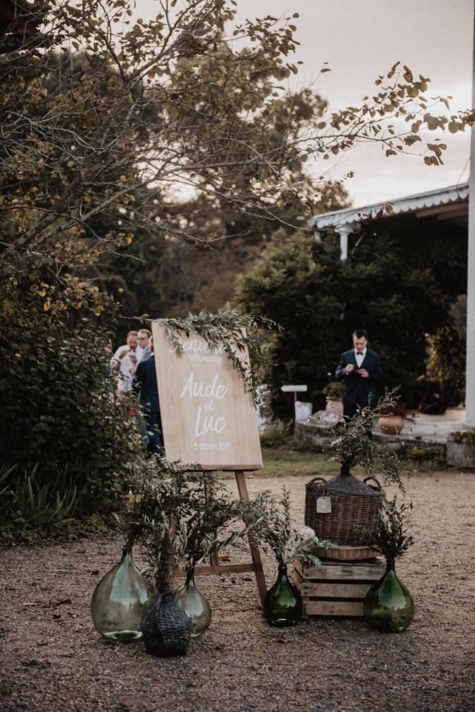 mariage chateau Monbet Deco cocktail