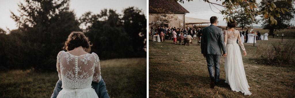 mariage chateau Monbet Saint Mon les Mines