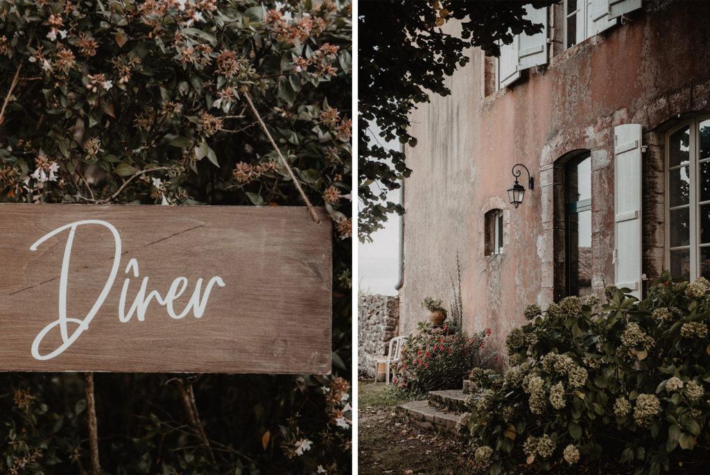 mariage chateau Monbet Landes domaine