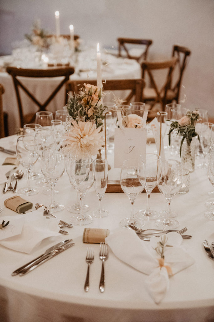 mariage chateau Monbet Deco élégante végétale bohème