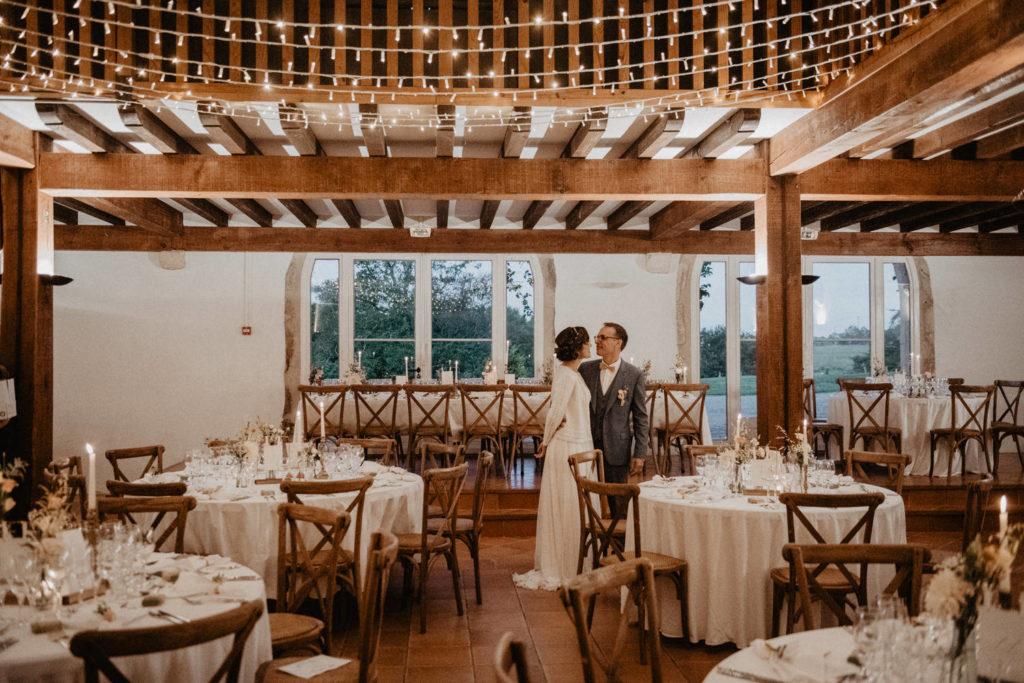 mariage chateau Monbet Deco salle de réception