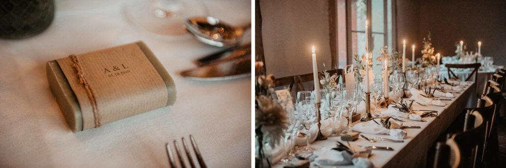 mariage chateau Monbet déco domaine réception