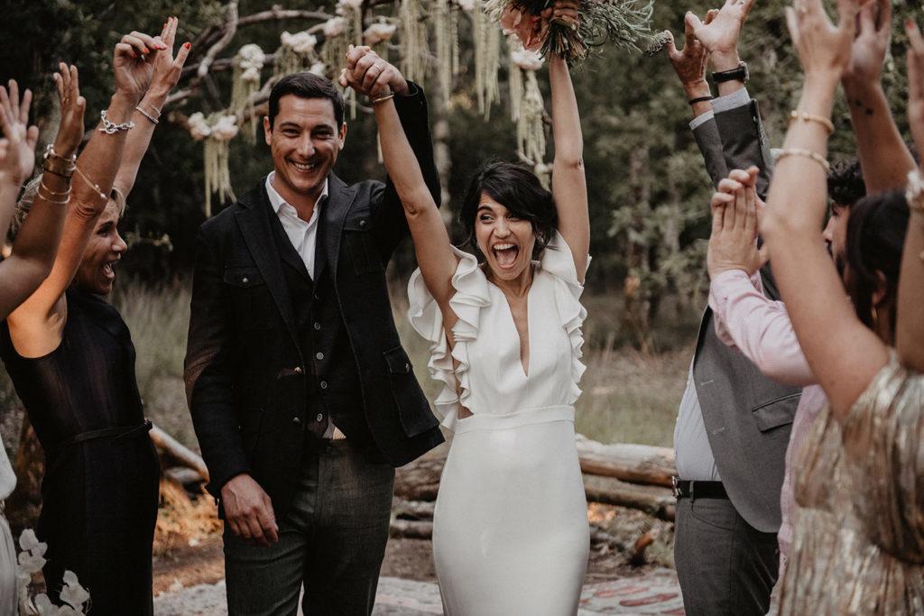 ceremonie laqué domaine Petiosse mariage