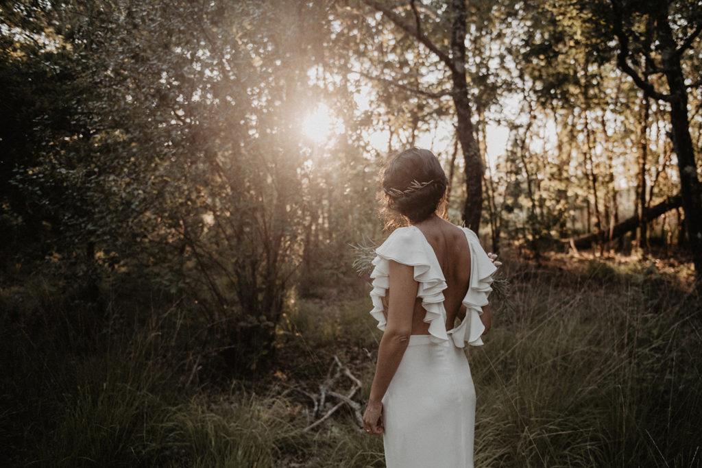 robe mariée moderne originale