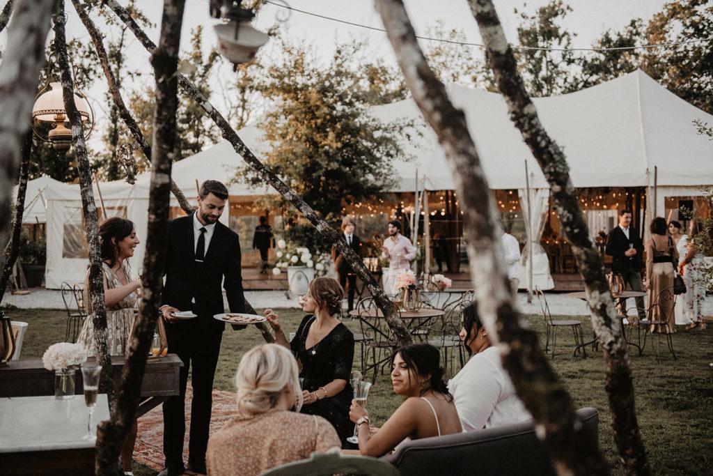 photo cocktail elegant domaine Bordeaux