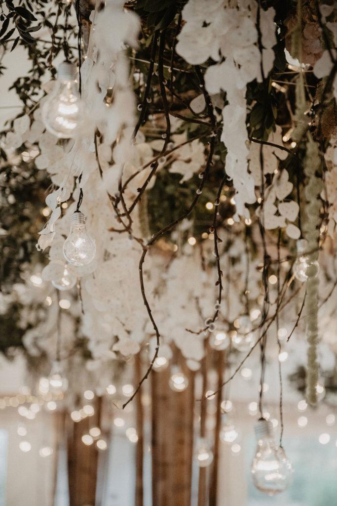 suspension vegetale mariage