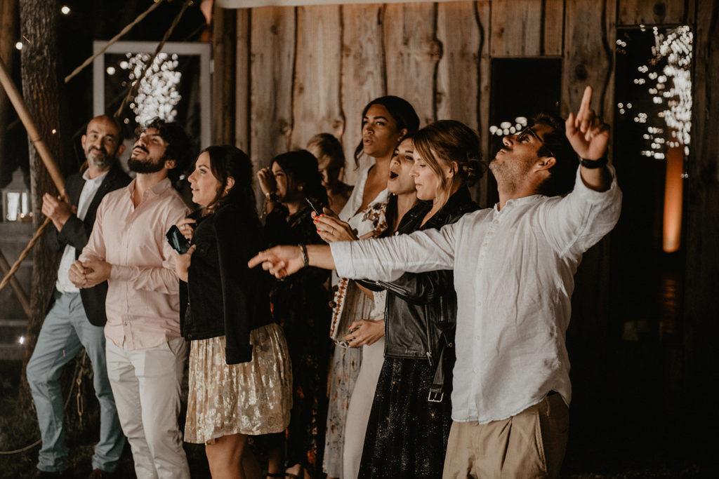 soirée mariage domaine Petiosse danse photographe